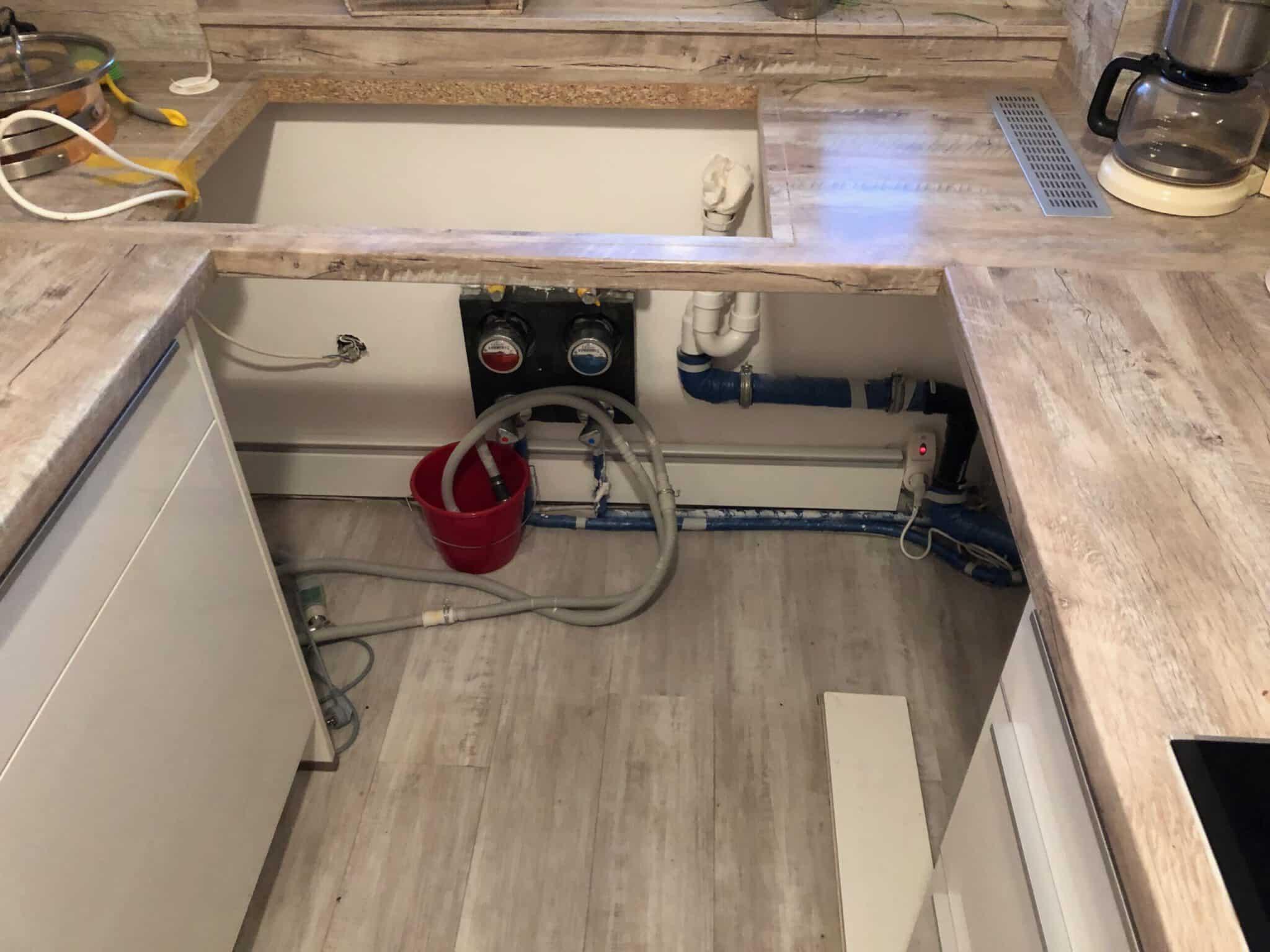 Küche einer Eigentumswohnung in Uetersen, 2019-12-27 00:16:01